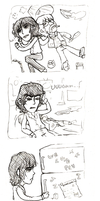 beatle comic - milk rage by Kuri-ishi