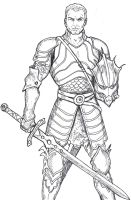 Dungeons and Dragons - Paladin by Spake759