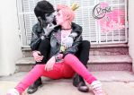 Marshall Lee x Prince Gumball - Rock Version by InCielxCPherCosplay