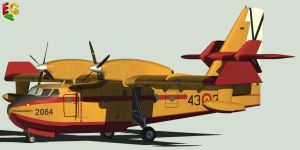 CANADAIR CL 415 FIREFIGHTER by Emigepa