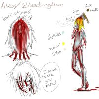 Bleeding Man ref by Chibi-Works