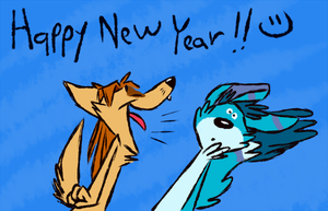 HAPPY NEW YEAR!!! by the-fox-after-dark