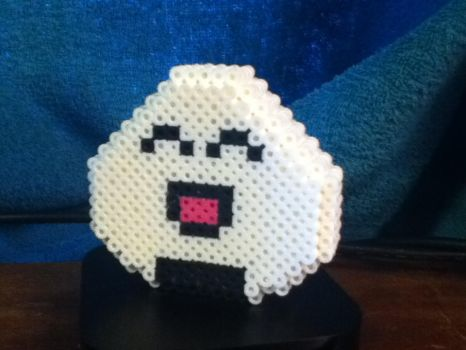 3D Onigiri-San by Pixelated-Broomstick