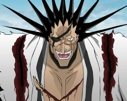 Kenpachi Wallpaper by Spitfire3