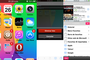 iOS 7 theme for iOS 4.2.1 by G0Editz