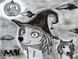 Alpha and Omega Howloween by Mitsi1991