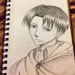 Levi Pencil Drawing by CharoletteInk