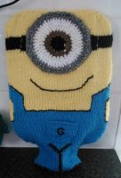 Minion Hotwater Bottle Cover by Anaseed