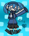 Ene (Mekaku city actors) by IreneThecat2001