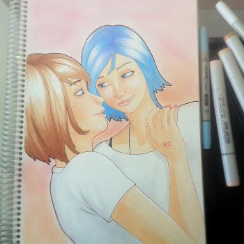 Max and Chloe by Gun-B