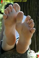 Silky Feet 3 by Footografo