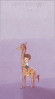 Giraffes Are Very Nice. by Cuineth