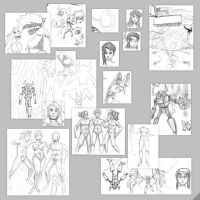 Sketchness May Page1 by AJUST