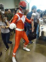 Fan Expo 2013: Red MMPR by NaruHinaFanatic