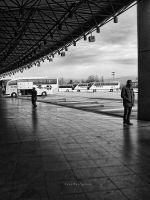 Bus Station by pigarot