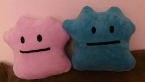 Life sized Ditto plushies by MT2286