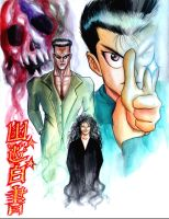 YU YU HAKUSHO IN MY STYLE by toriman-28