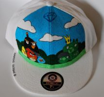 Angry Birds Cap by Illicit-Diamonds