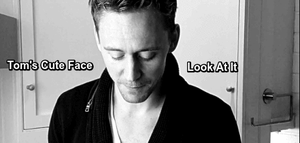 Tom's Cute Face--(Gif) by MischievousMonster