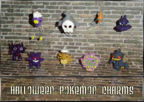 Halloween Pokemon Charms