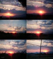 Six Sunsets by IsaZeta
