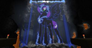 Nightmare Moon - Minecraft by SuneGem