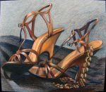 Still Life of Shoes by omorpha-matia