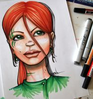 Copic-Girl by YoulDesign