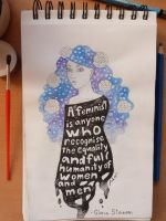 Sketchbook #2 - Feminism by simplybecauseblog