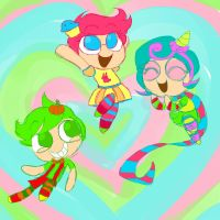 Powerpuff! by BreannaBoop