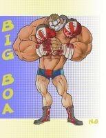 Big Boa GI-JOE by 13art13