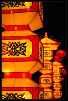 Chinese lantern festival II by Subsonicboom