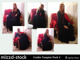 Gothic Vampire Pack 4 by mizzd-stock