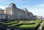 Brussels Royal Palace and Garden by Lissou-photography