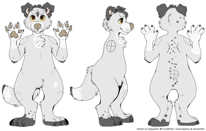 Floof anthro ref by chlckadee