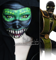 Mortal Kombat, Reptile by MadeULookbylex