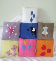My Little Pony Pillows by PlushWorkshop