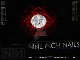 Nine Inch Nails - Wave Goodbye by RicGrayDesign