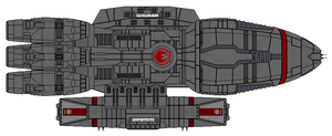Amphitrie class Heavy Cruiser by Barricade