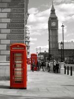 London Phone Box by Elidy