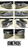 One Piece Shoes by shadowstrider05