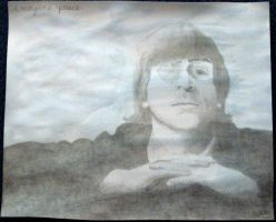 imagine peace john lennon by ruthey