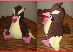 Pidgey Plush by Allyson-x