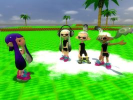 Reason why there's no white inklings in Splatoon by Aso-Designer