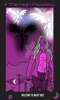 Welcome to Night Vale Tarot: 2 -The High Priestess by Mitszell