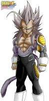 vegeta  ssj5 2012 by salvamakoto