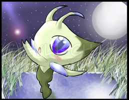 Celebi-Sparkles by The-Cactus-Runner