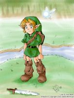 OoT kiddy Link by yume