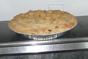 Apple Pie baked g-f by dtf-stock