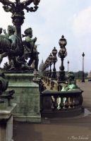 Pont Alexandre III (detail) by Phototubby